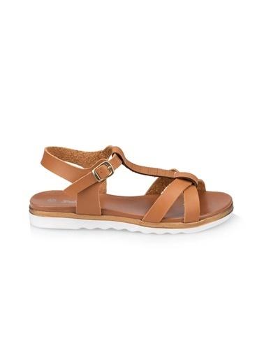 Polaris Sandalet Taba